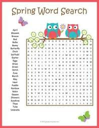 best 25 spring word search ideas on pinterest childrens word