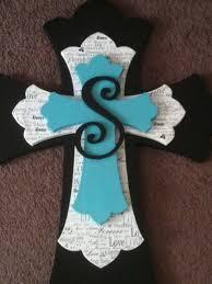 wooden craft crosses custom made wooden decorative stacked cross by ballardb314 on etsy