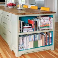 kitchen island with shelves diy kitchen islands ideas using common household furniture