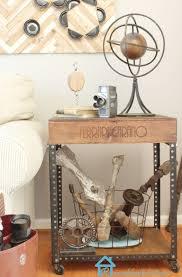 remodelando la casa diy industrial side table