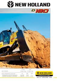crawler dozers d180 new holland pdf catalogue technical