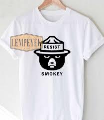 womens halloween shirt smokey resist t shirt men and women youth size s xl