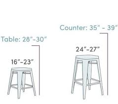 Desk Height Calculator by How To Choose The Right Bar Stools Wayfair