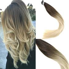 i tip hair extensions keratin i tip human hair extensions brown to colored