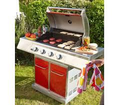 Ordinateur De Bureau Chez Carrefour by Lebarbecue Barbecue Premium Gaz 4 Feux Rouge Prix Promo Barbecue