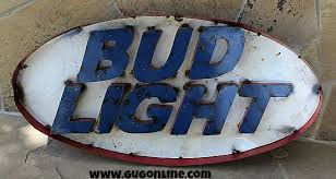 bud light tin signs metal signs