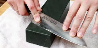 where to get kitchen knives sharpened how to sharpen a one sided sushi knife kitchen expert