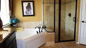master bath corner tub beautiful master bathroom with double