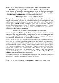 samples of autobiographical essays doc 12401754 writing short essays example short autobiography example short autobiography essay writing short essays
