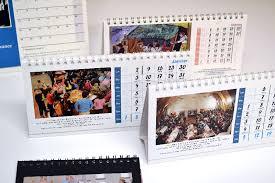 chevalet de bureau personnalisé calendrier de bureau chevalet pas cher entièrement personnalisable