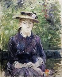 Berthe Morisot In The Dining Room Berthe Morisot Oil Paintings Reproduction And Original Art
