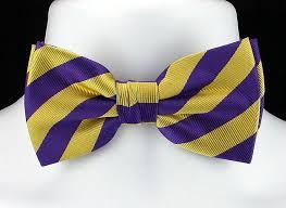 mardi gras ties new purple gold mens bow tie adjust college mardi gras tuxedo