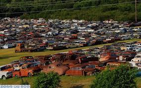 auto junkyard texas caught at the curb i love junkyards