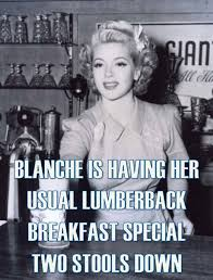 Lumberjack Meme - golden girls meme blanche lana turner lumberjack breakfast golden
