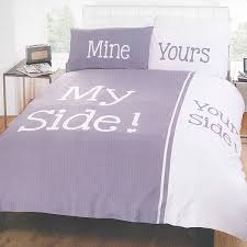 Harry Corry Duvet Covers My Side Your Side Grey Duvet Set Harry Corry Limited