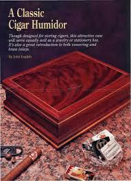 Humidor Woodworking Plans Pdf by Making Cigar Humidor U2022 Woodarchivist