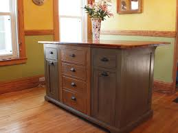 Wood Tops For Kitchen Islands Handmade Rustic Kitchen Island With Wood Top By Rustique Llc