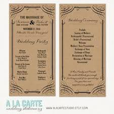 wedding ceremony card 26 unique wedding ceremony programs we absolutely adore flourish