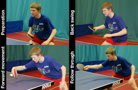 table tennis coaching near me coaching forehand backhand flick table tennis england