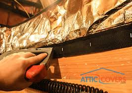 attic door insulation covers attic stairway insulator installs