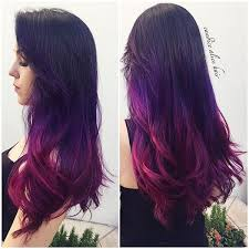 weave hairstyles with purple tips 227 best hair images on pinterest colourful hair cabello de