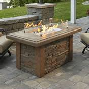 Patio Table With Firepit by Fire Pit Tables Woodlanddirect Com Outdoor Fireplaces