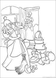 cinderella coloring book pages disney the cinderella princess