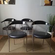 italienische vintage 2092 sessel aus leder u0026 aluminium von enzo