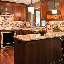 brown kitchen cabinets backsplash ideas photos hgtv