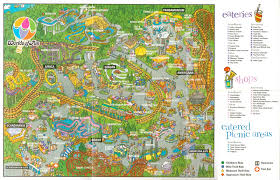 halloween horror nights 2015 map newsplusnotes from the vault worlds of fun 1996 park map