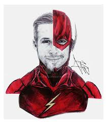fancast drawing ryan gosling as the flash by m serch on deviantart
