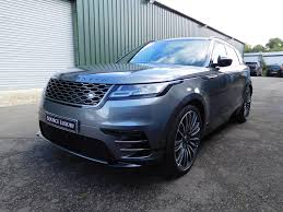 land rover velar blue used 2017 land rover velar for sale in surrey pistonheads