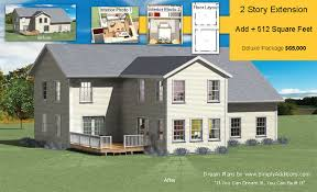 Home Building Plans And Costs Two Story Addition