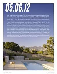 Los Angeles Times Home And Design Fernau U0026 Hartman Updates Santa Ynez House In The La Times Magazine
