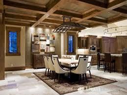 rustic home interior design impressive all dining room