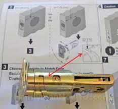 how to install a schlage keypad deadbolt