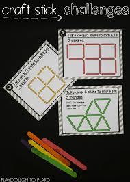 craft stick puzzles playdough to plato