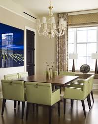 round table with chairs that fit underneath dining table under staircase dining room contemporary with roman