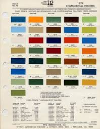 1969 ford truck colors the exterior color code indicates the