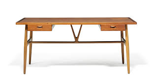 Modern Wood Desk Dc Hillier U0027s Mcm Daily The Woods