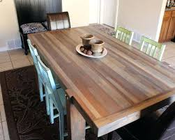 wood block dining table solid oak butcher block dining table butcher block dining table make