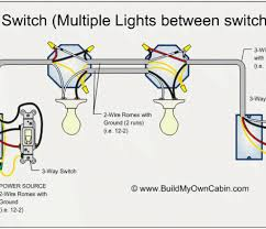 diagram light wiring lights with two to one switch