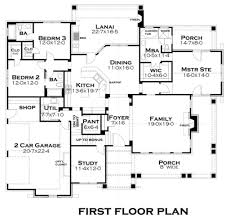 craftsman style house plan 3 beds 3 baths 2267 sq ft plan 120