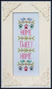 Country Cottage Cross Stitch Home Tweet Home Cross Stitch