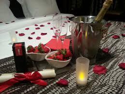 chambre amoureux séjour romantique à pour les anniversaires de mariage grand