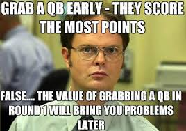 Warehouse Meme - d schrute meme 1 dynasty football warehouse