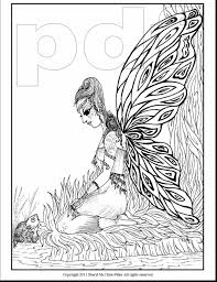 spectacular advanced fairy coloring pages with fairy coloring