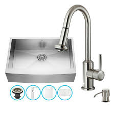 Kitchen Sink Set by Kitchen Sink With Faucet Set Vigo Vg15318 All In One 32 Undermount