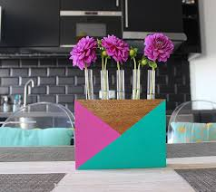 Test Tube Vase Holder 50 Diy Wood Projects