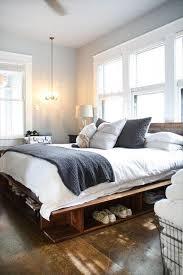 Pallet Platform Bed Bed Frame Pallets Frame Decorations